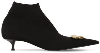 Balenciaga 40mm Knife Knit Spandex Boots