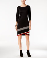 INC International Concepts Asymmetrical Knit Dress, Only at Macy's