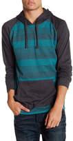 Burnside Stripe Hoodie Pullover