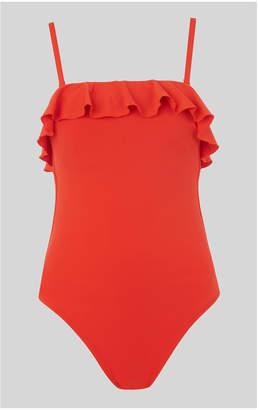 Whistles Cali Frill Swimsuit