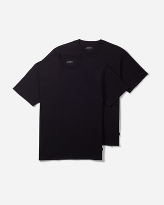 Saturdays NYC Two Pack Solid Standard Fit Tees