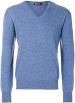 Loro Piana long sleeved V-neck sweater