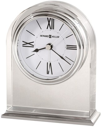 Howard Miller Optica, Contemporary Modern, Glam, and Sleek Table Clock, Reloj de Mesa
