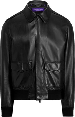 Thumbnail for your product : Ralph Lauren Henfield Plonge Leather Jacket