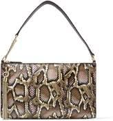 Jimmy Choo Snakeskin Callie Mini Hobo Bag