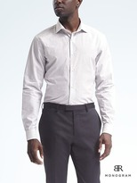 Banana Republic Monogram Grant-Fit Stripe Shirt