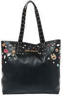 Betsey Johnson Betseys Baubles Pearly Jeweled Tote