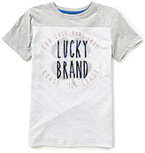 Lucky Brand Big Boys 8-20 Coastal Luck Short-Sleeve Tee