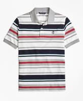 Brooks Brothers Cotton Multi Stripe Polo