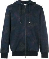 Etro Paisley print zipped hoodie - men - Cotton/Polyamide - M