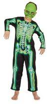 F&F Skeleton Glow in the Dark Costume, Girl's