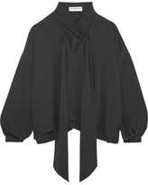 Balenciaga Silk Blouse - Dark gray