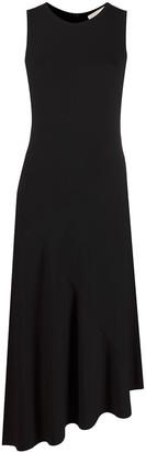 MICHAEL Michael Kors Asymmetric Hem Midi Dress