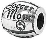 Zable Sterling Silver Soccer Mom Bead