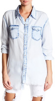 One Teaspoon Coco Liberty Distressed Shirt