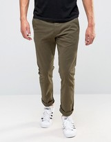 Esprit Slim Fit Chino In Brushed Cotton