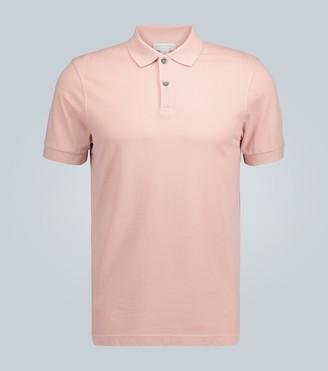 Sunspel Pique cotton polo shirt