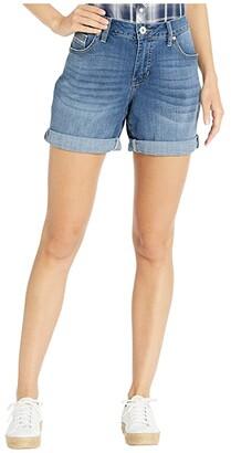 Jag Jeans Alex Boyfriend Denim Shorts (Brilliant Blue) Women's Shorts