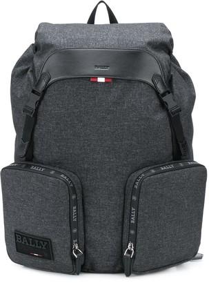 Bally Zipped Pockets Backpack