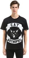Diesel Cat Astrophy Patches Jersey T-Shirt