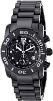 Swiss Legend 10128-BKBD Chronograph Diamond Black Ceramic Watch
