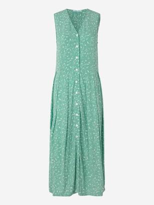 Samsoe & Samsoe Cinda Dress In Mint Leaves - XS
