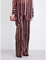 Zimmermann Folly Uniform flared cotton-blend trousers