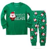 "Kidsmall ""Santa"" Girls Boys Christmas Pajamas Baby Sleepwear"