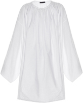 The Row Melody cotton-blend tunic dress
