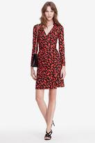 Diane von Furstenberg New Jeanne Two Silk Jersey Wrap Dress