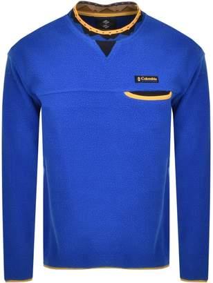 Columbia Wapitoo Pullover Fleece Blue