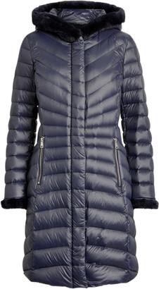 Ralph Lauren Faux Fur-Trim Down Coat