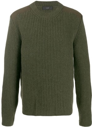 Alanui Crew-Neck Cashmere Sweater