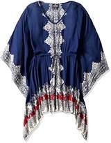 Angie Women's Plus Size Printed Caftan Dress