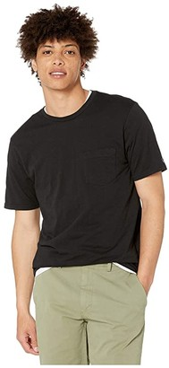 Volcom Solid Pocket Short Sleeve Tee (Black) Men's Clothing