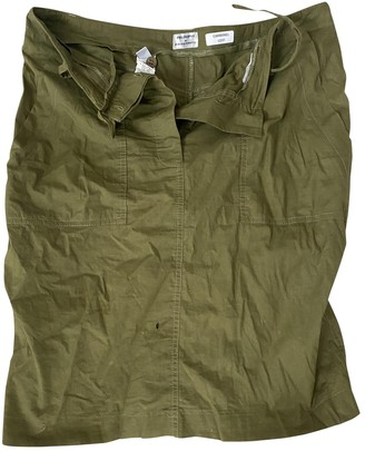 Philosophy di Alberta Ferretti Green Cotton Skirt for Women
