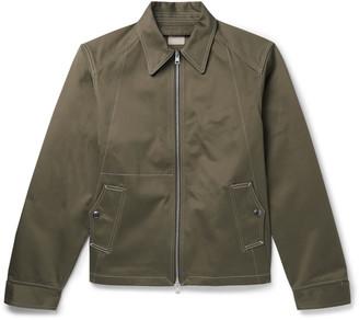L.E.J Contrast-Stitched Cotton-Twill Bomber Jacket