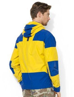 Polo Ralph Lauren Hooded Color-Blocked Jacket