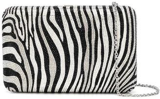 Judith Leiber Seamless zebra print clutch