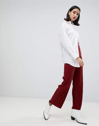 Selected Lecia plisse trousers