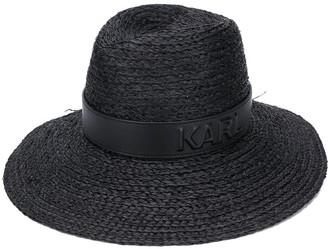 Karl Lagerfeld Paris straw hat