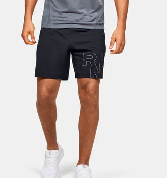 Under Armour Men's UA Launch SW Branded 7'' Shorts