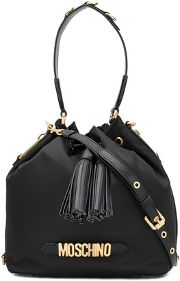 Moschino Tassel Detailed Satchel