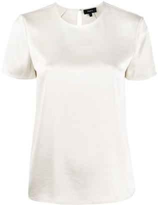 Theory textured T-shirt