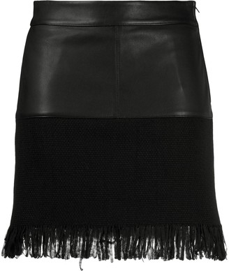 Pinko Contrast Panel Skirt