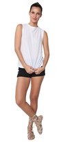Alexander Wang Tissue Muscle Tee White