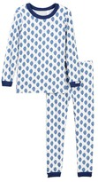 Coccoli Leaf Print Pajamas (Toddler & Little Kids)