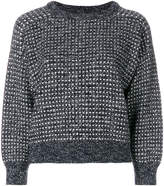 Bellerose textured cropped sweater