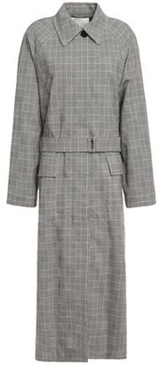 3.1 Phillip Lim Prince Of Wales Checked Wool-blend Trench Coat