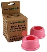 Smallflower organicKidz Light Pink Narrow Neck Bottle Rings
